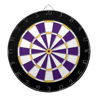 Colorful Dart Board in Minnesota colors
