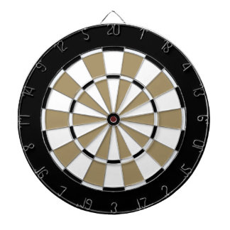 Colorful Dart Board in New Orleans colors