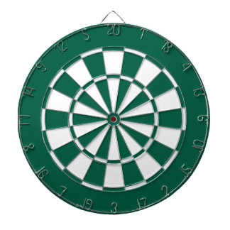 Colorful Dart Board in New York colors