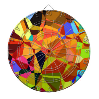 Colorful Dart Boards