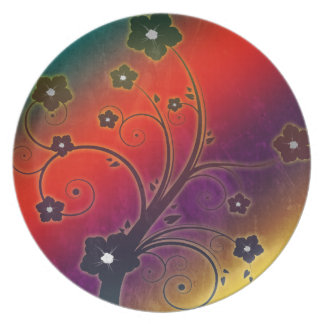 Colorful Decoration Plate