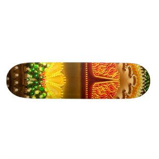 Colorful decorations skate board decks