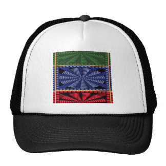 Colorful Decorative Button Art GIFTS Wedding FUN Mesh Hat