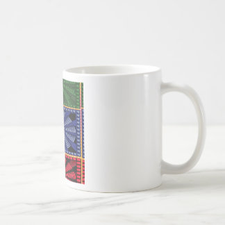 Colorful Decorative Button Art GIFTS Wedding FUN Coffee Mugs