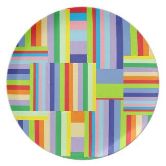 Colorful Decorative Plate