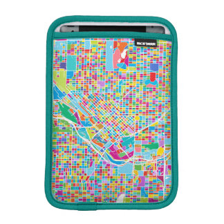 Colorful Denver Map iPad Mini Sleeve