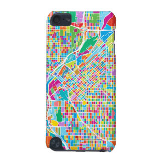 Colorful Denver Map iPod Touch 5G Covers