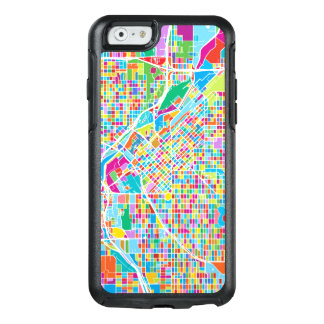 Colorful Denver Map OtterBox iPhone 6/6s Case