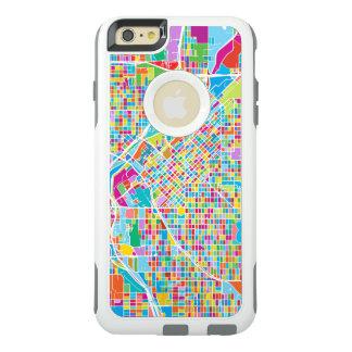 Colorful Denver Map OtterBox iPhone 6/6s Plus Case