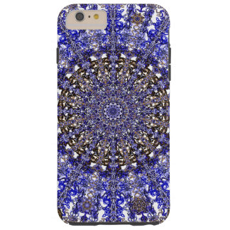 colorful design mandala in Moroccan Tough iPhone 6 Plus Case