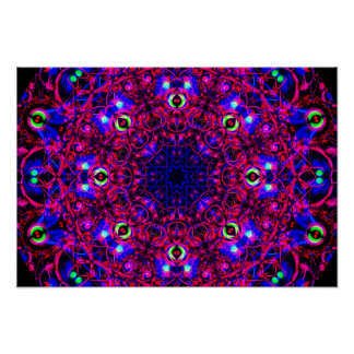 Colorful&Detailed Mandala Poster