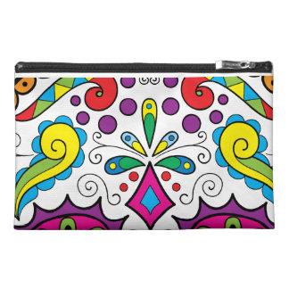 "Colorful ""Dia Des Los Muertos"" Bags-Various Travel Accessories Bags"