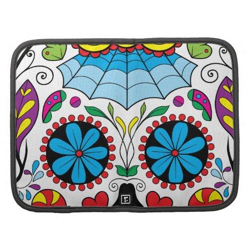 """Colorful """"Dia Des Los Muertos"""" Smartphone Folio Planners"""