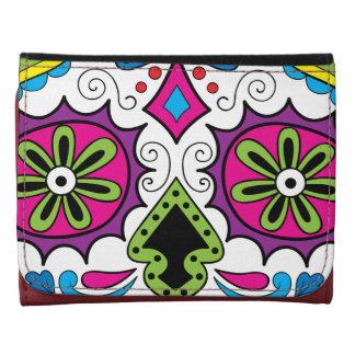 """Colorful """"Dia Des Los Muertos"""" Wallets-Various Wallet"""
