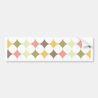 Colorful Diamond Days Bumper Sticker