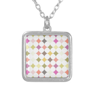 Colorful Diamond Days Silver Plated Necklace