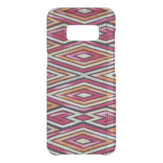 Colorful diamond pattern on Samsung Galaxy s8 case
