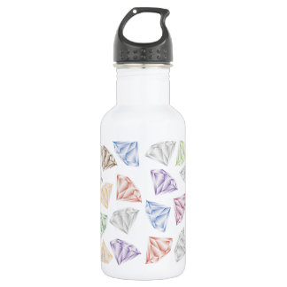 Colorful Diamonds for my sweetheart 532 Ml Water Bottle