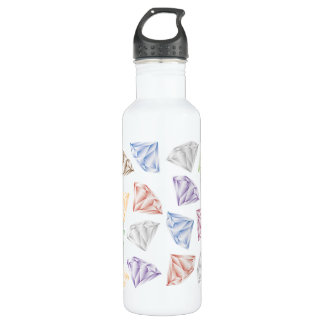 Colorful Diamonds for my sweetheart 710 Ml Water Bottle