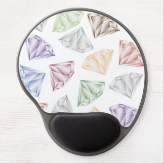 Colorful Diamonds for my sweetheart Gel Mouse Pad