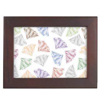 Colorful Diamonds for my sweetheart Keepsake Box