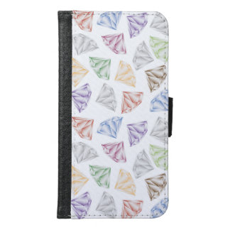 Colorful Diamonds for my sweetheart Samsung Galaxy S6 Wallet Case