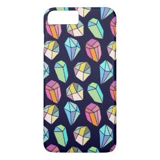 Colorful Diamonds Modern Pattern iPhone 8 Plus/7 Plus Case