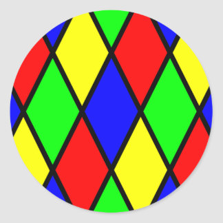 Colorful Diamonds Sticker
