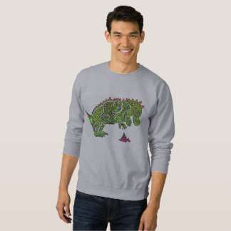 Colorful Dinosaur Sweatshirt