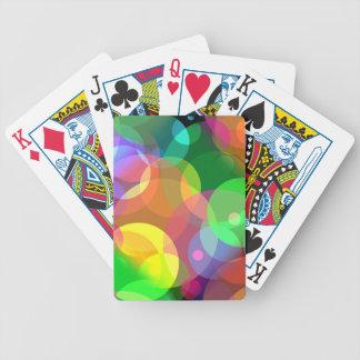 Colorful Disco Dots Poker Deck
