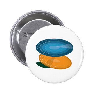 Colorful Disks Pin