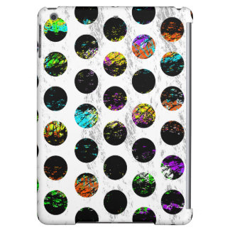 Colorful Distressed Polkadots