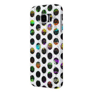 Colorful Distressed Polkadots Samsung Galaxy S6 Cases