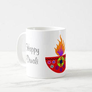 Colorful Diwali Lamp Diya Coffee Mug