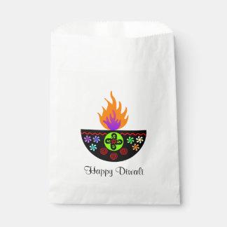 Colorful Diwali Lamp Diya Favour Bag
