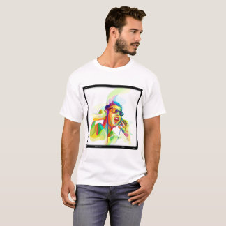 Colorful dj play music lets party !!! T-Shirt