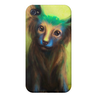 Colorful Dog Cases For iPhone 4