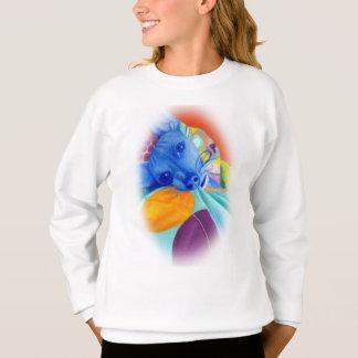 Colorful Dog Portrait Sweatshirt