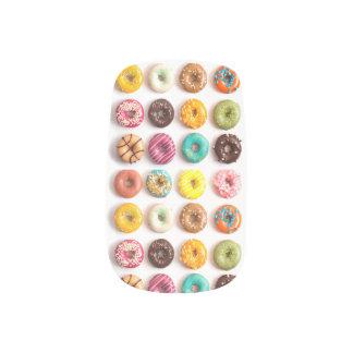 Colorful Donut Nails Minx Nail Art