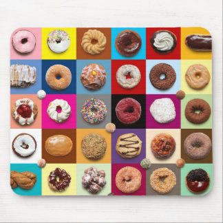 Colorful donuts mousepad