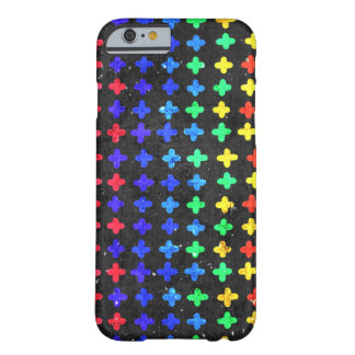 Colorful Doodle Pattern Barely There iPhone 6 Case