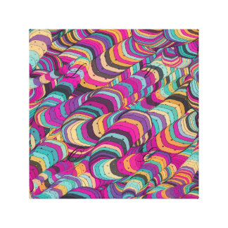 colorful,doodling,abstract digital art, fun,happy, gallery wrap canvas