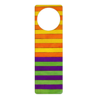 Colorful Door Knob Hanger