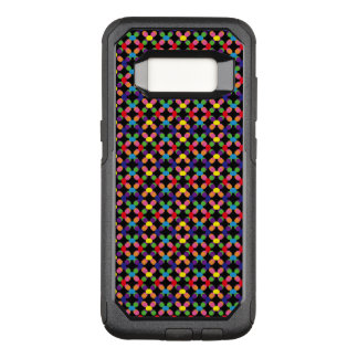colorful dot OtterBox commuter samsung galaxy s8 case