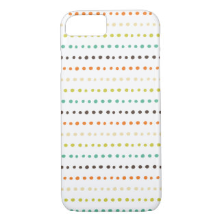 Colorful dotted lines pattern iPhone 8/7 case