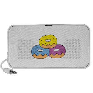 Colorful Doughnuts Portable Speakers
