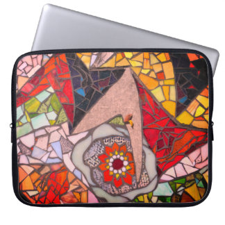 Colorful Downtown Austin Sidewalk Laptop Sleeve