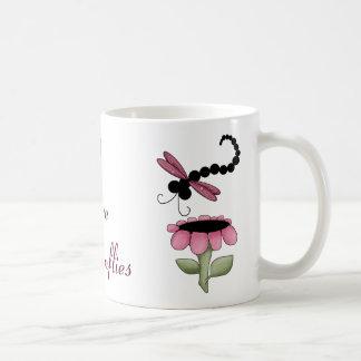 Colorful Dragonflies Mug