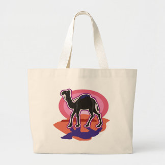 Colorful Dromedary Camel Tote Bags