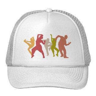 Colorful Dubstep Dancers Hats